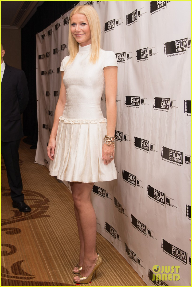 gwyneth paltrow gene siskel film center gala honoree 13
