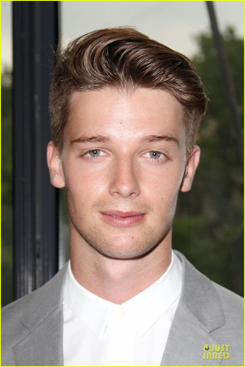 patrick schwarzenegger stuck in love nyc screening 122899108
