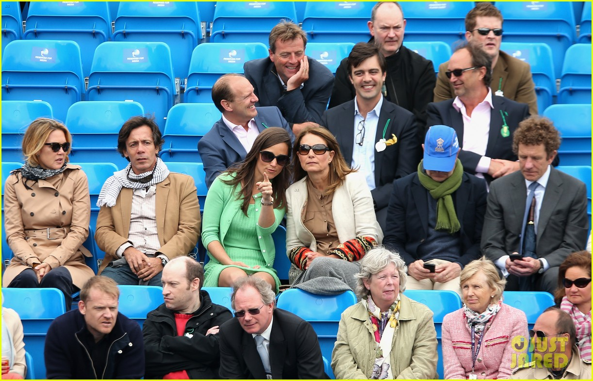 pippa middleton aegon championships with mom carole 172893125
