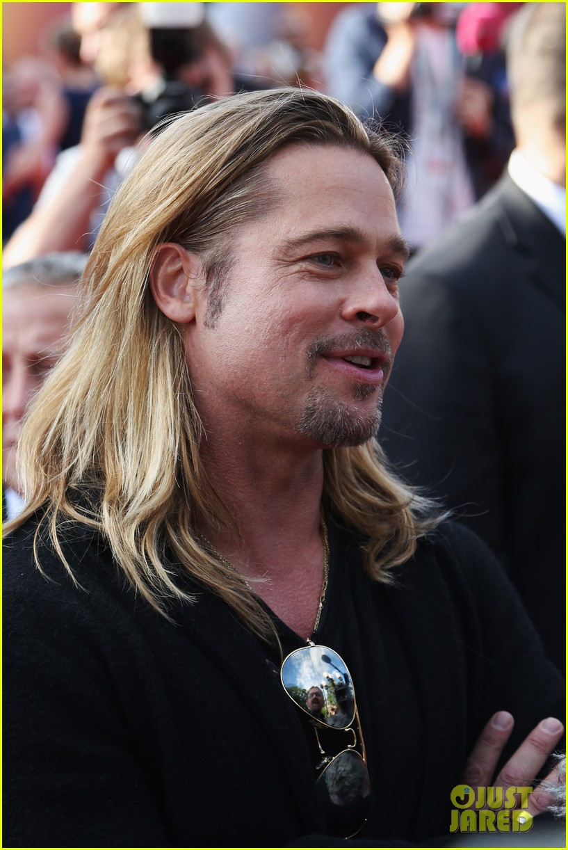 brad pitt world war z at moscow film festival 142895144