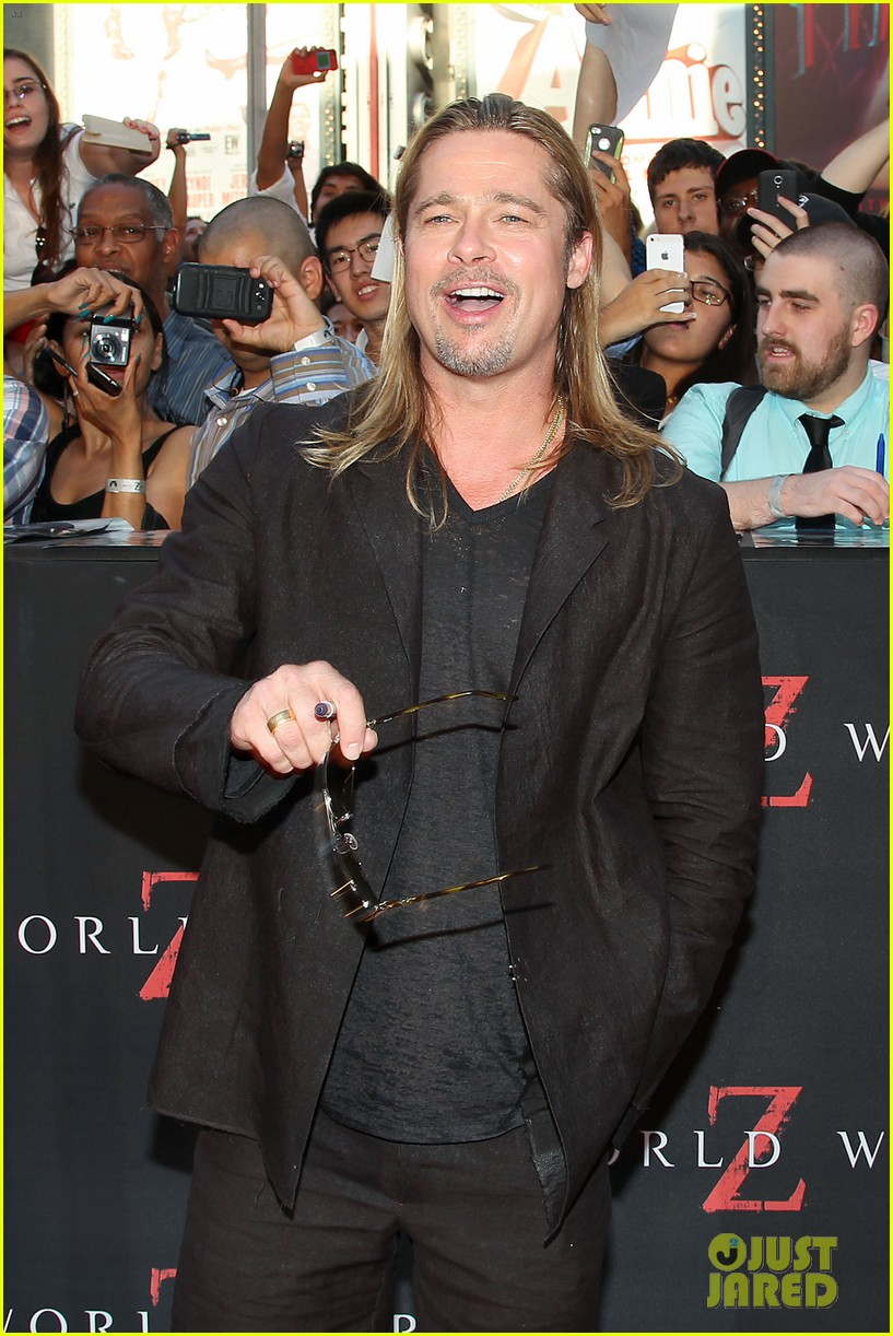 brad pitt world war z new york premiere 122893154