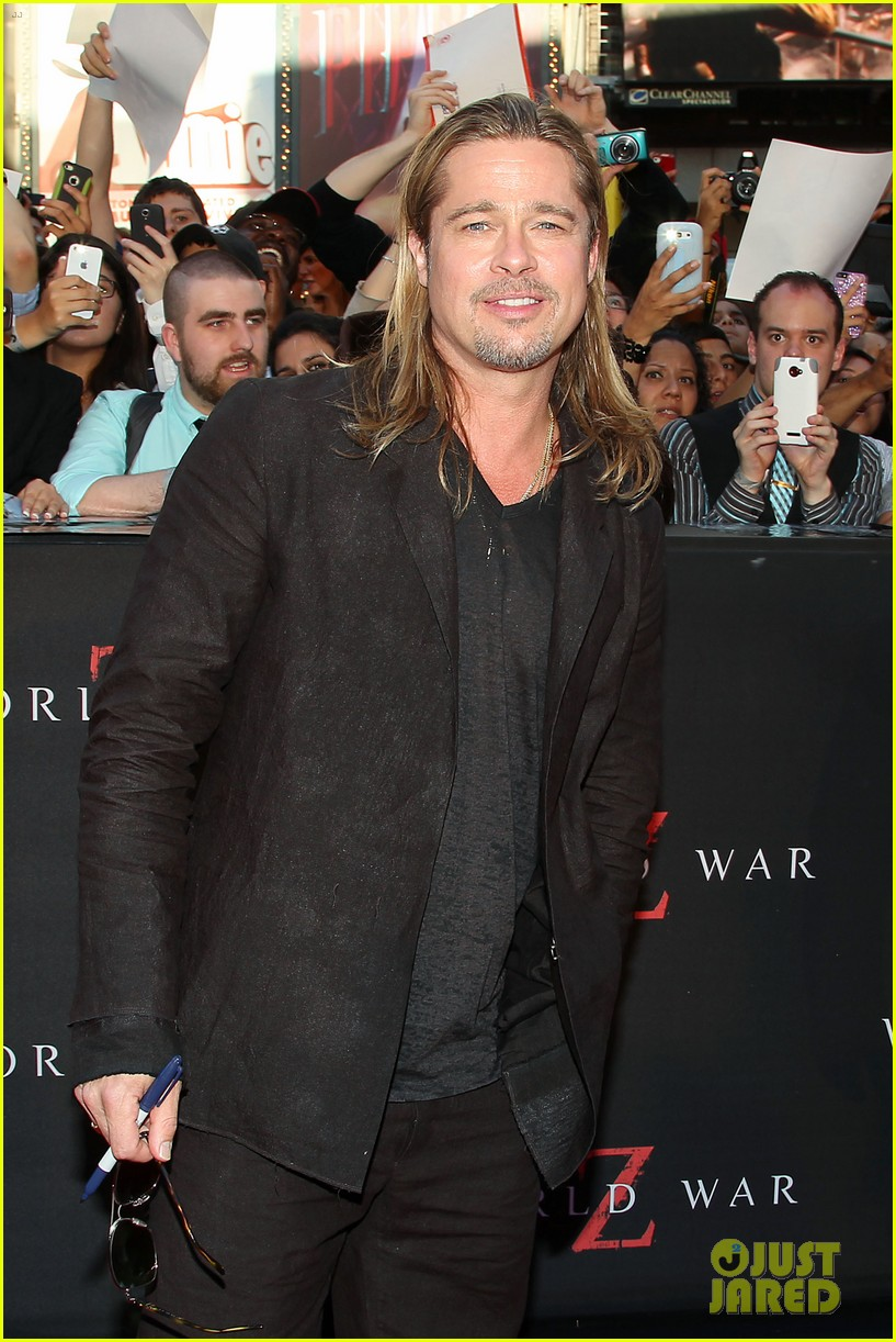 brad pitt world war z new york premiere 13