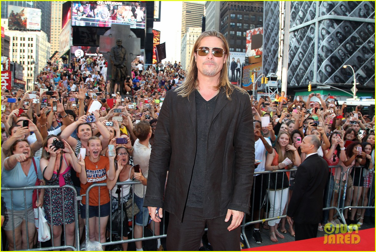brad pitt world war z new york premiere 15