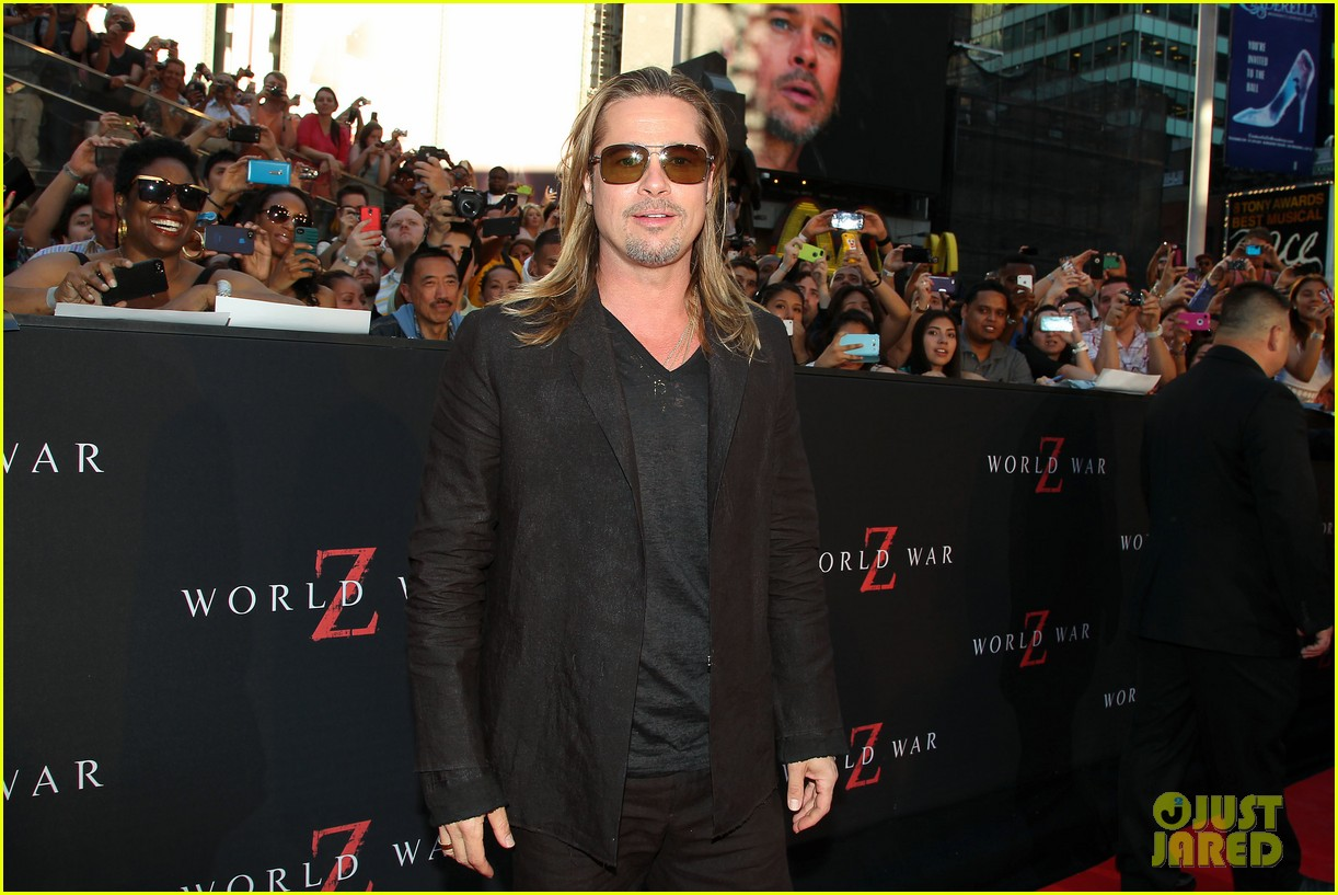 brad pitt world war z new york premiere 18
