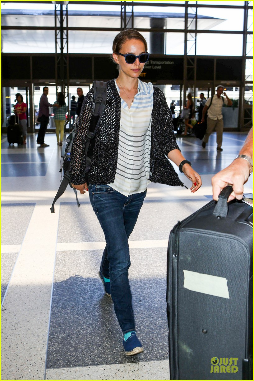 natalie portman benjamin millepied lax departure after dance project gala 052896396