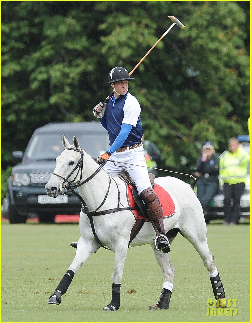 prince william harry international audi polo game 142892314