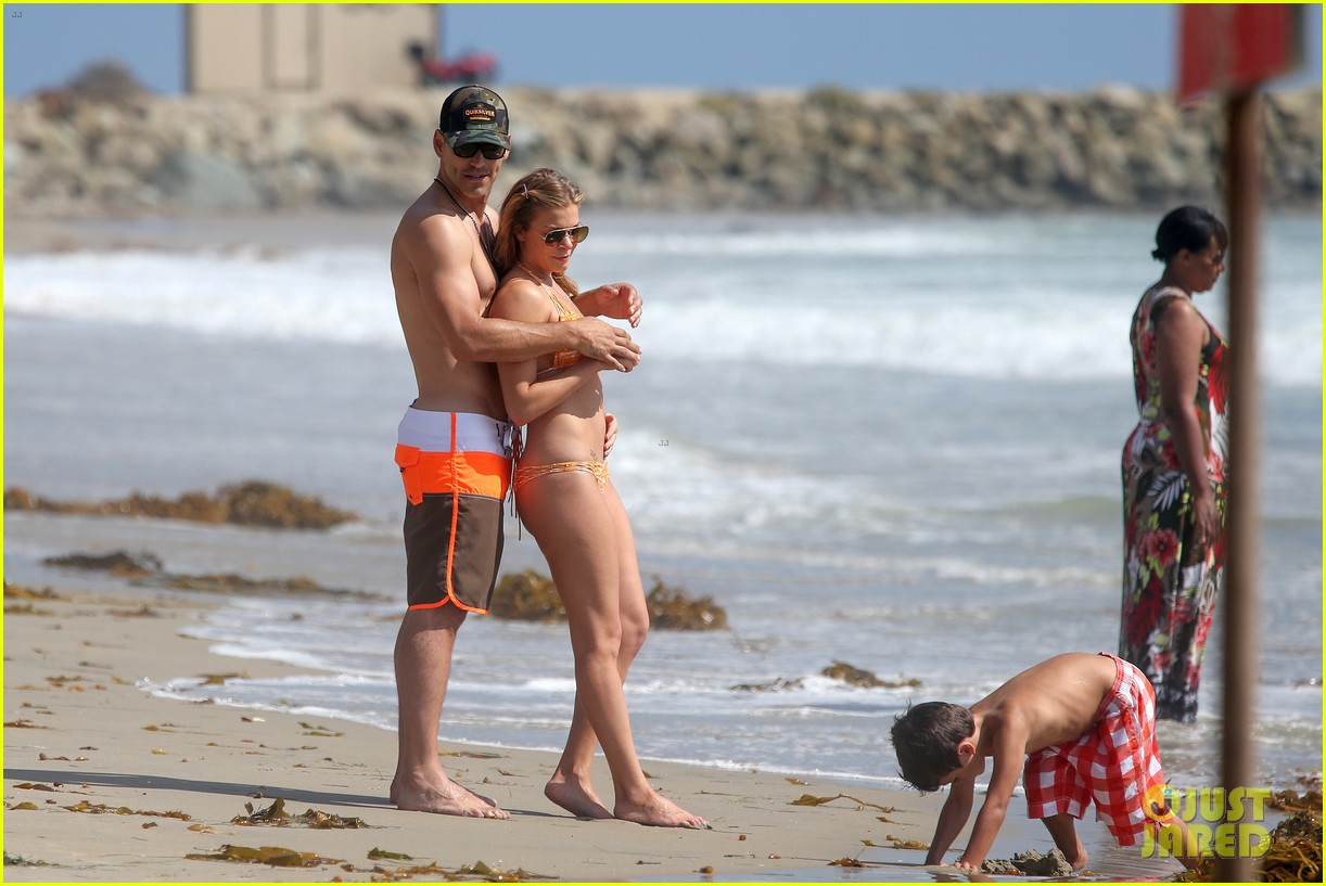 leann rimes bikini beach trip for eddie cibrian 40th bday 24