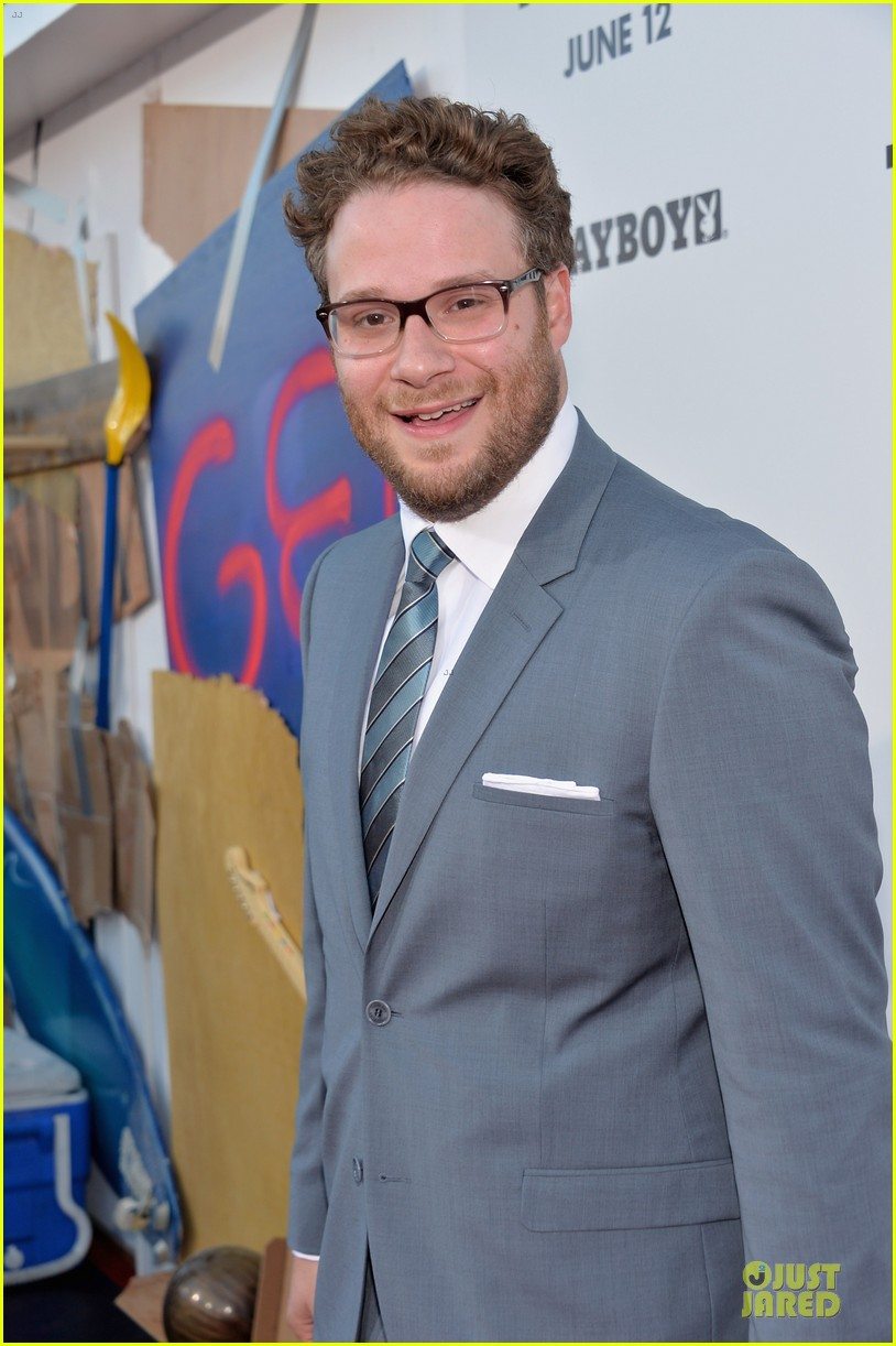 seth rogen paul rudd this is the end los angeles premiere 17