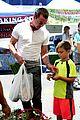 gavin rossdale fathers day farmers market boys 33