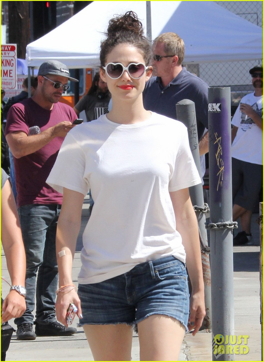 emmy rossum celebrate pets at work day 16