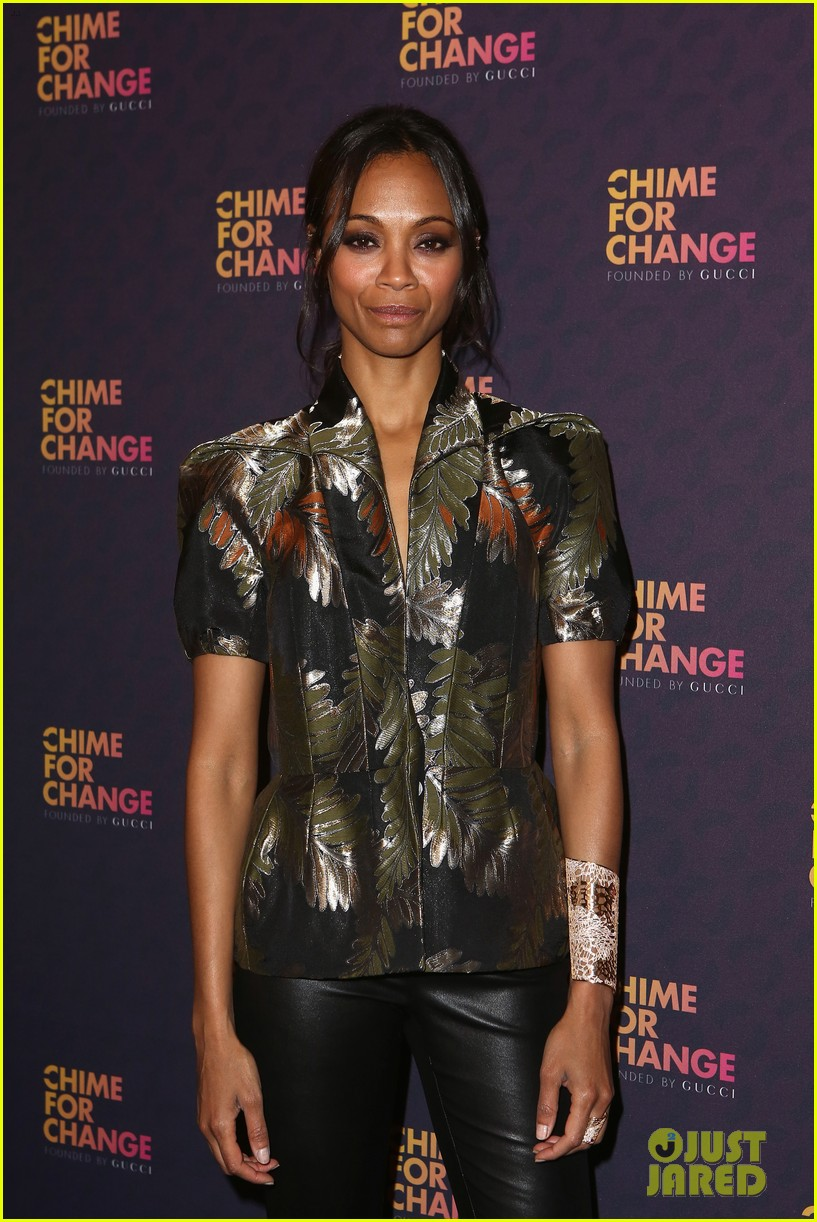 zoe saldana thandie newton chime for change concert 122882108