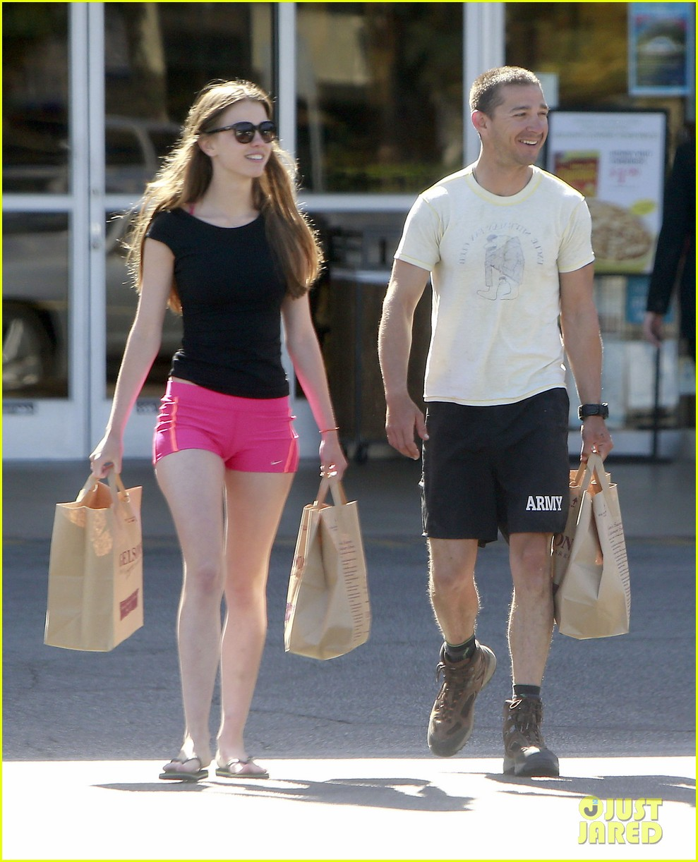shia labeouf mia goth stock up for summer weekend 08