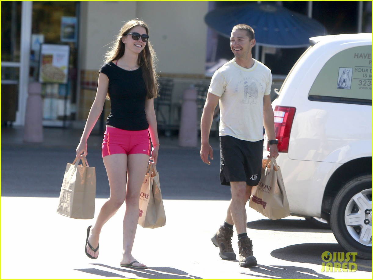 shia labeouf mia goth stock up for summer weekend 11