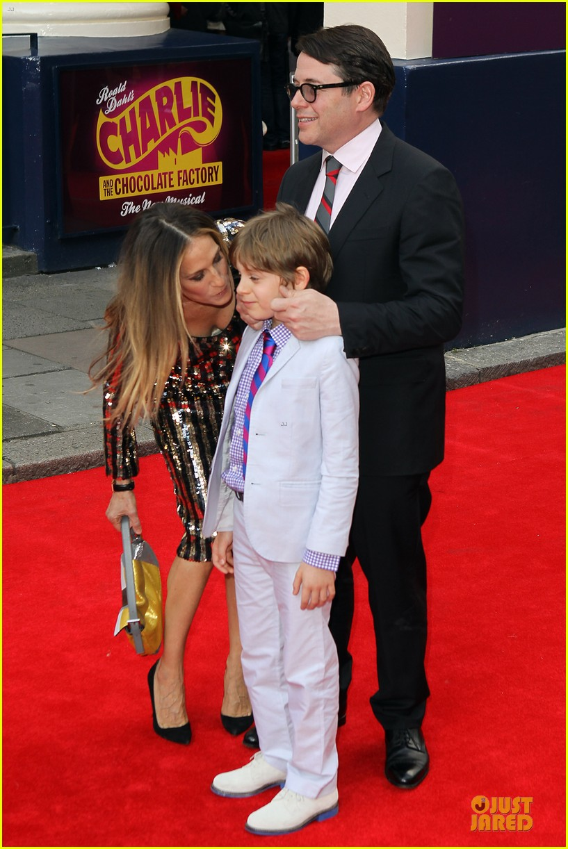 sarah jessica parker matthew broderick charlie and the chocolate factory press night 032898333