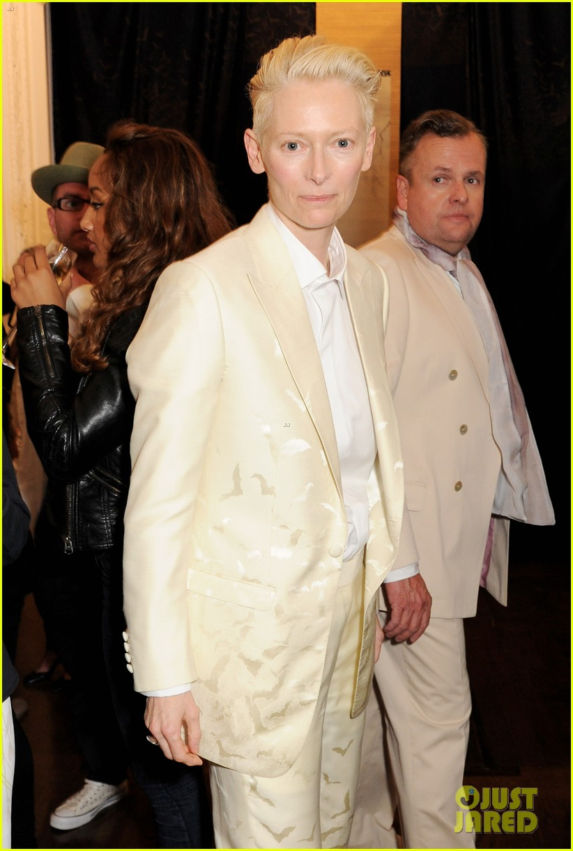 tilda swinton findhorn screening in london 05