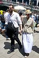 tilda swinton sandro kopp hold hands in venice 06
