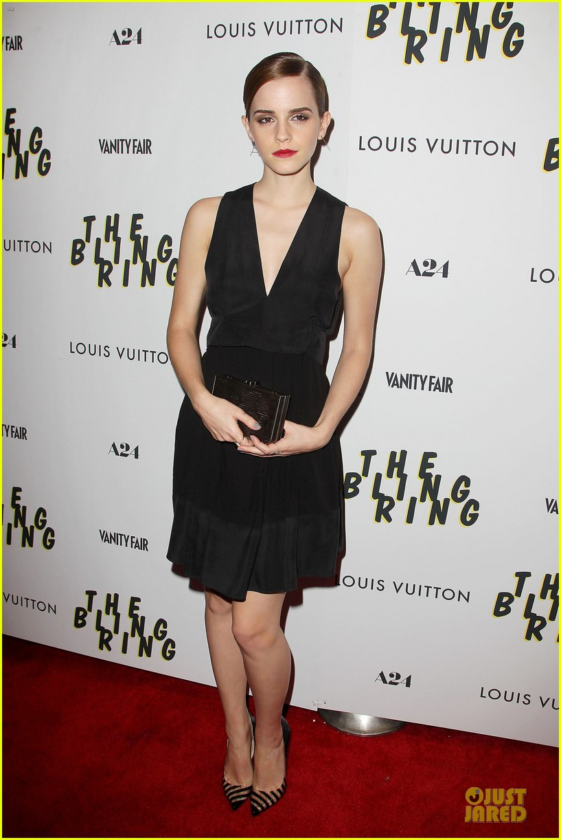 emma watson bling ring nyc screening 072889277