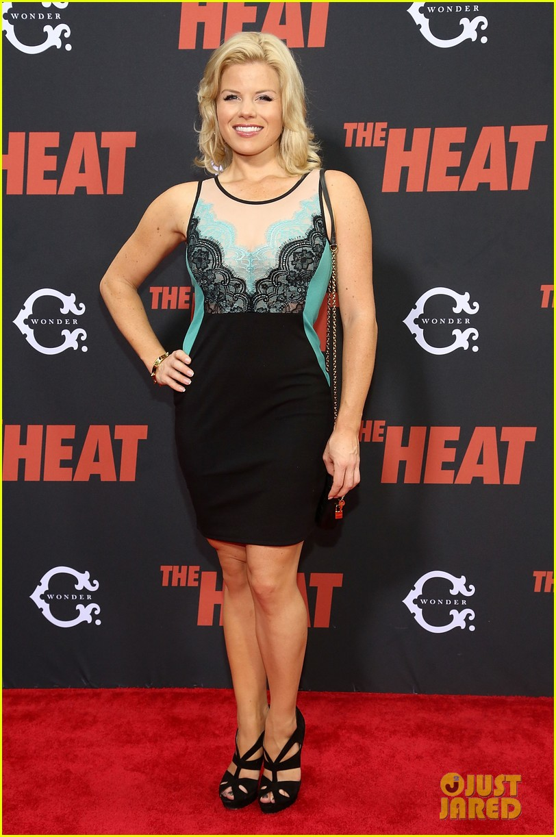 zosia mamet megan hilty the heat new york premiere 062897358