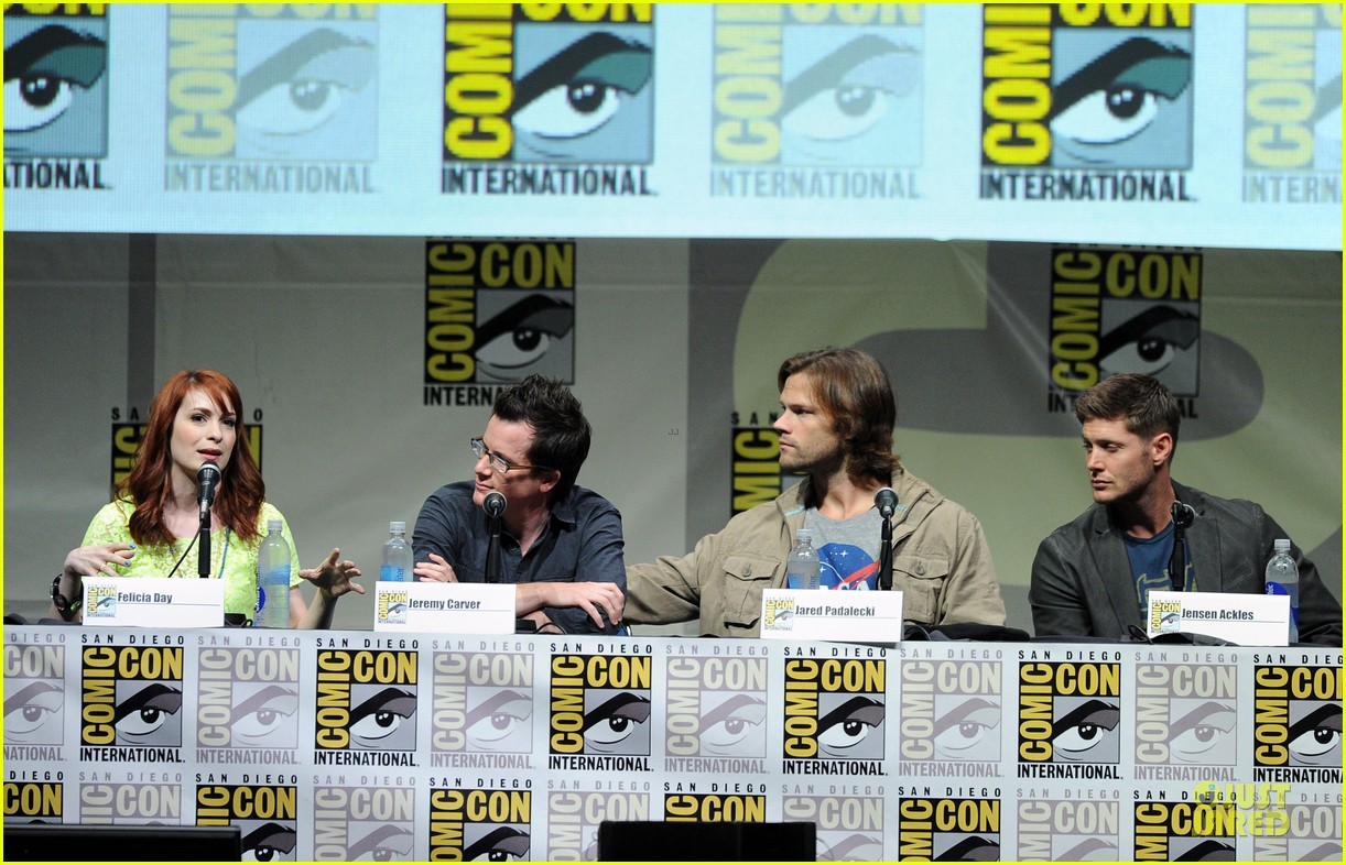 jensen ackles jared ackles supernatural at comic con 052914190