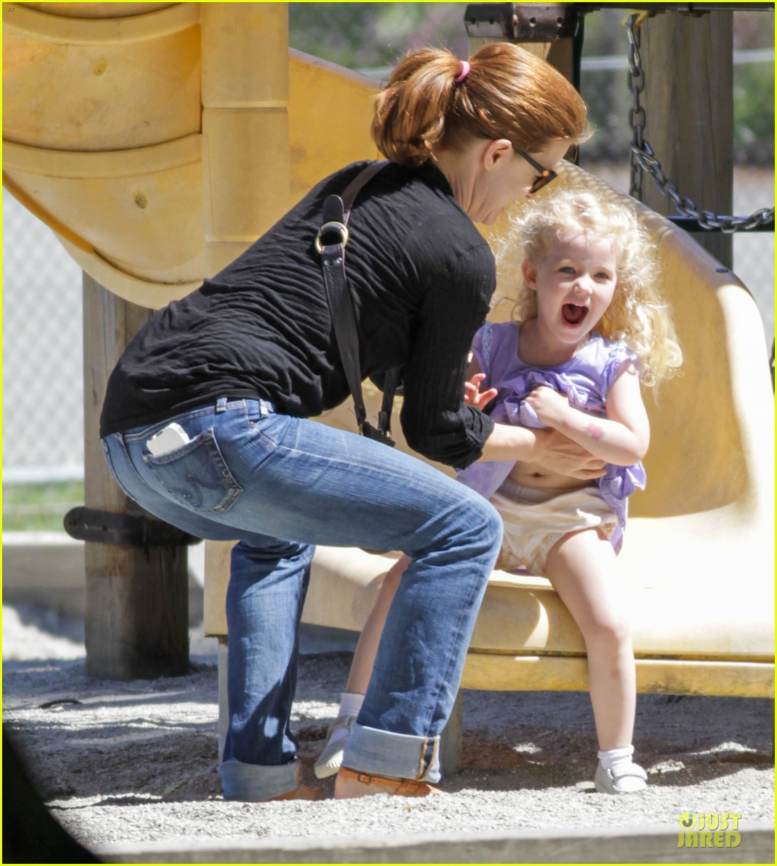 amy adams darren le gallo park date with aviana 022905241