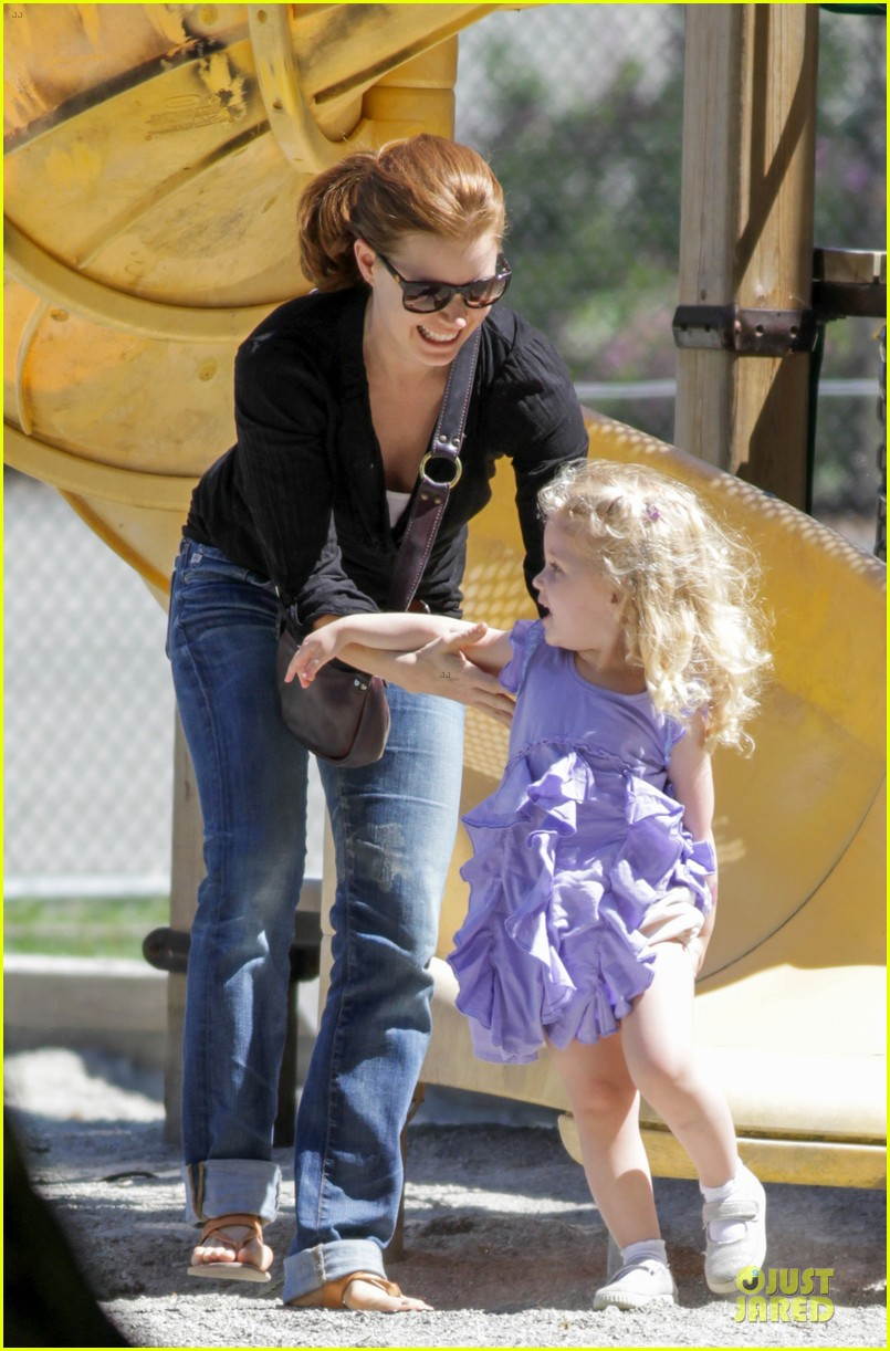 amy adams darren le gallo park date with aviana 13