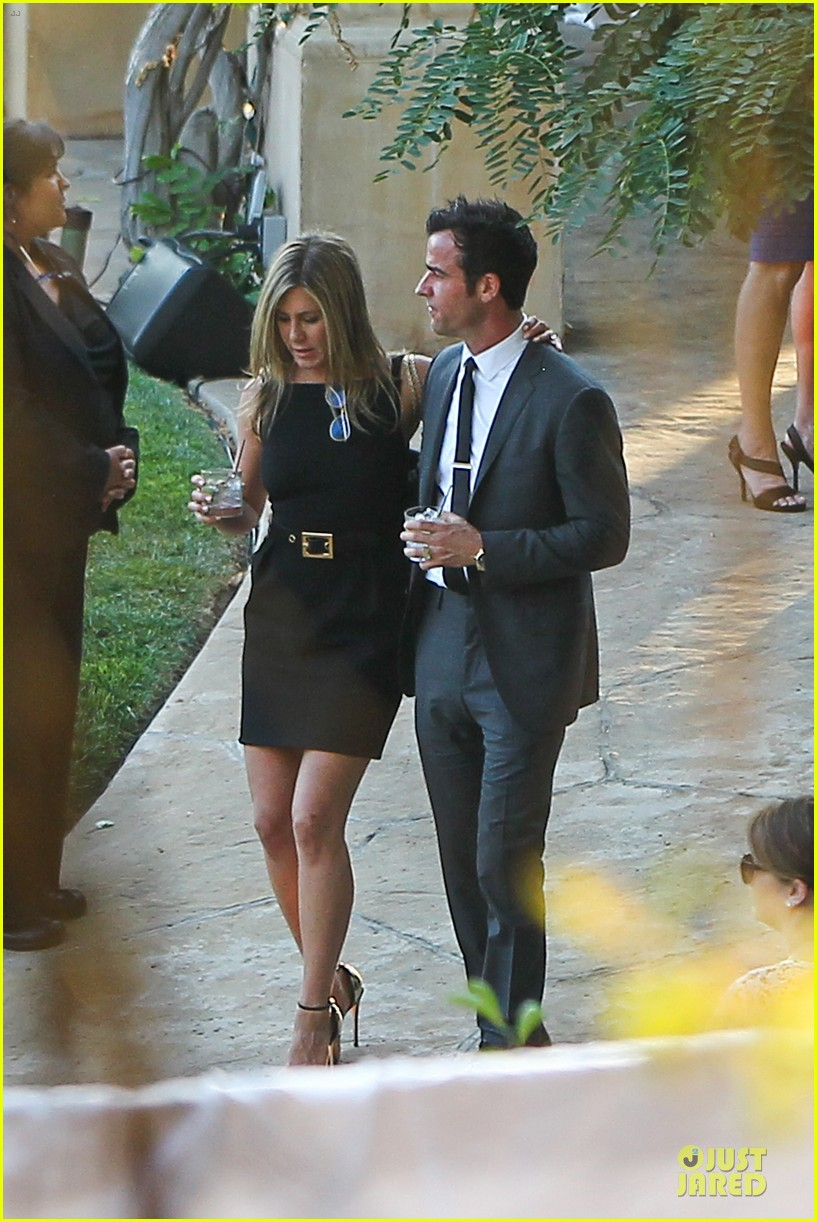 jennifer aniston justin theroux jimmy kimmel wedding guests 062909122