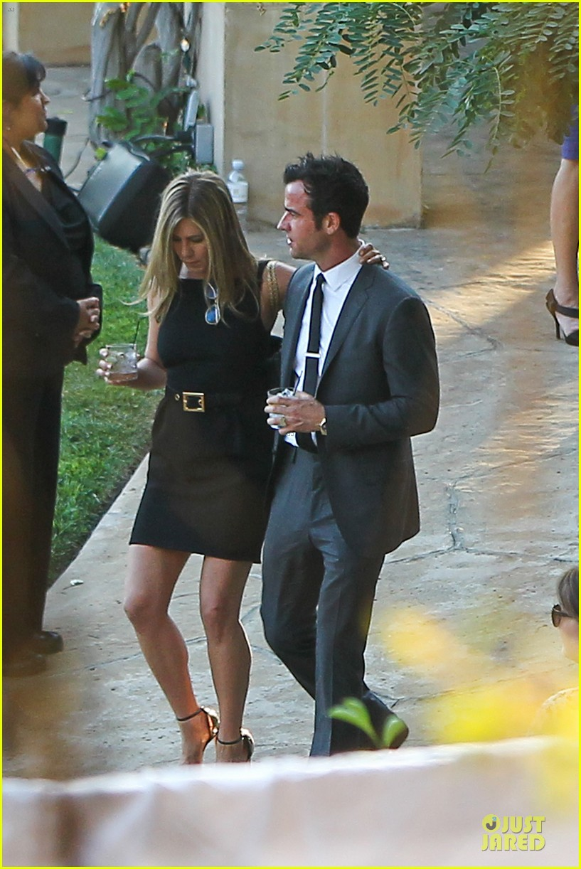 jennifer aniston justin theroux jimmy kimmel wedding guests 072909123