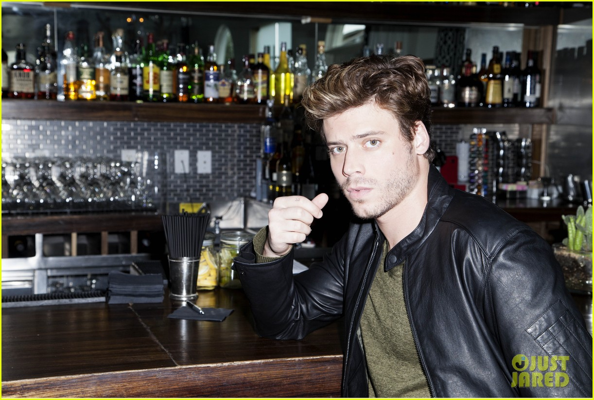 francois arnaud poses for interview magazine feature 06