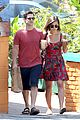 justin bartha lia smith iced coffee sharing couple 06