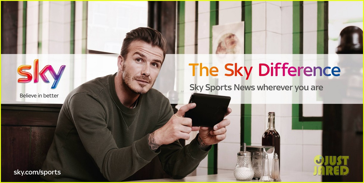 david beckham sky sports tv commercial ad campaign 022909731