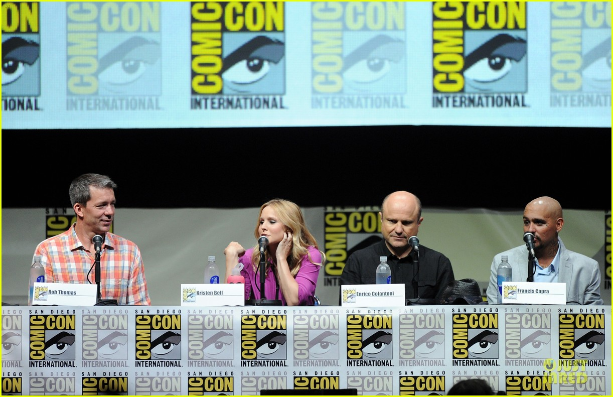 kristen bell chris lowell veronica mars qa at comic con 13