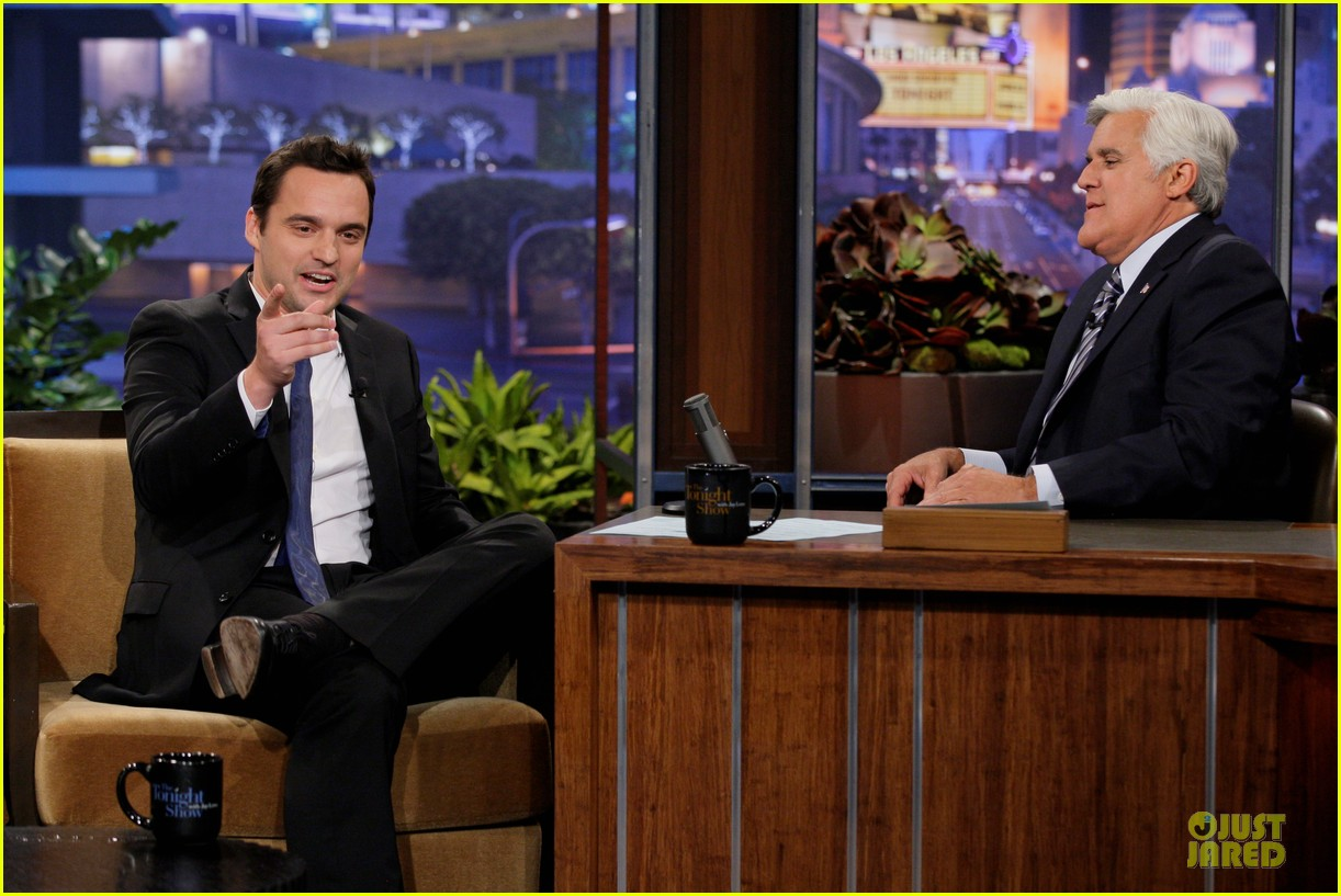 kristen bell jake johnson tonight show with jay leno guests 05