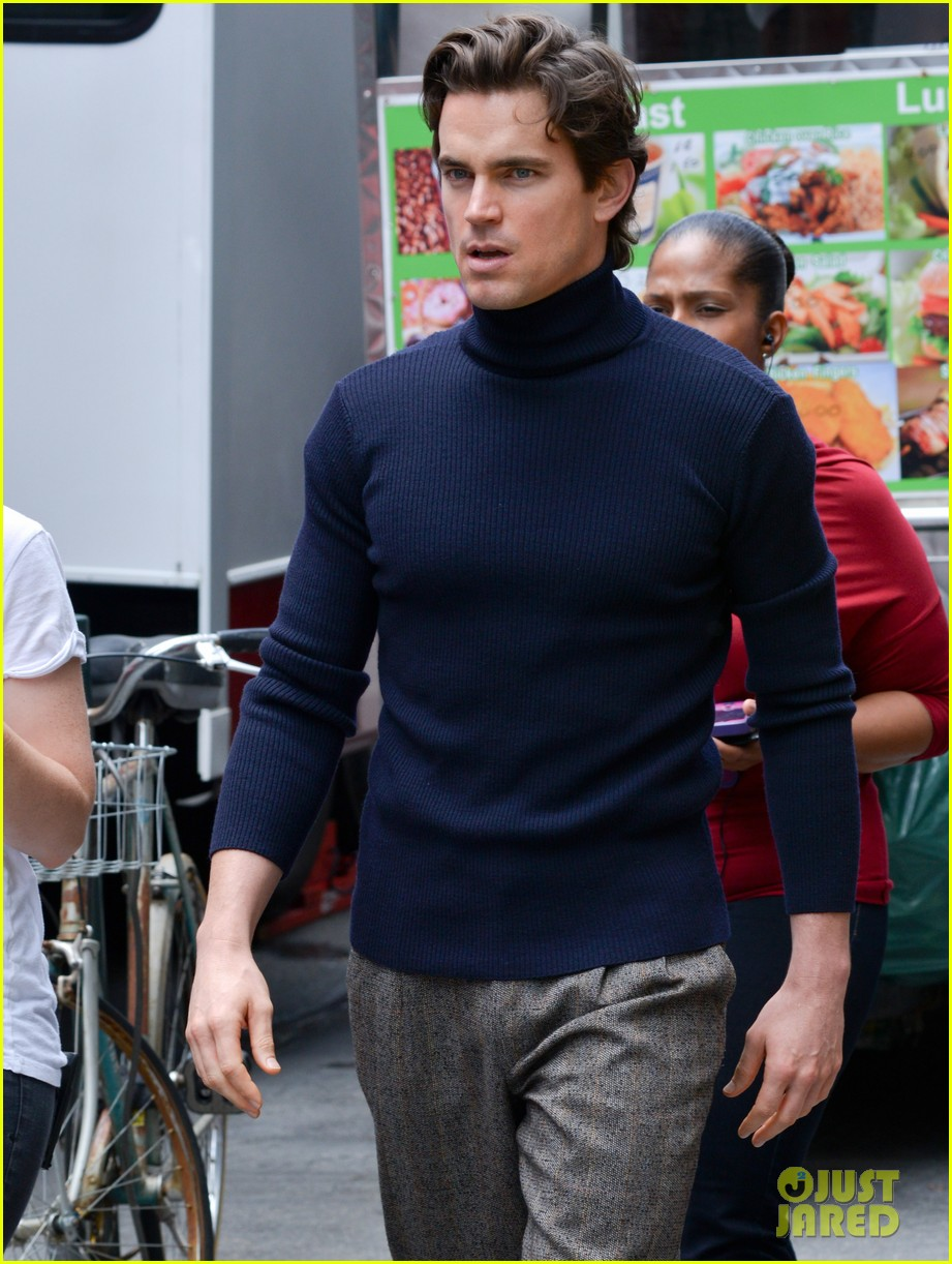 matt bomer taylor kitsch film normal heart in nyc 02