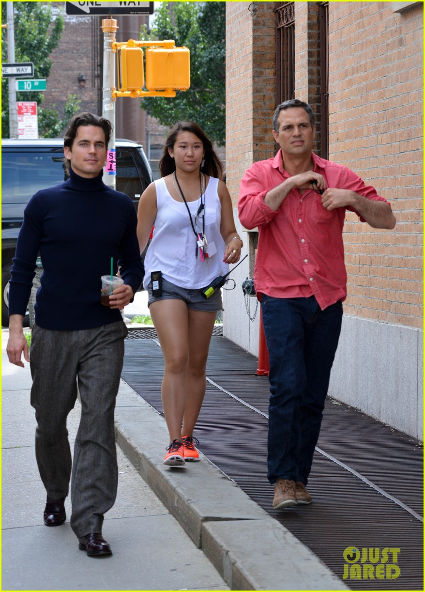 matt bomer taylor kitsch film normal heart in nyc 11