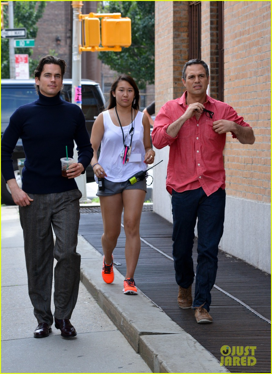matt bomer taylor kitsch film normal heart in nyc 12