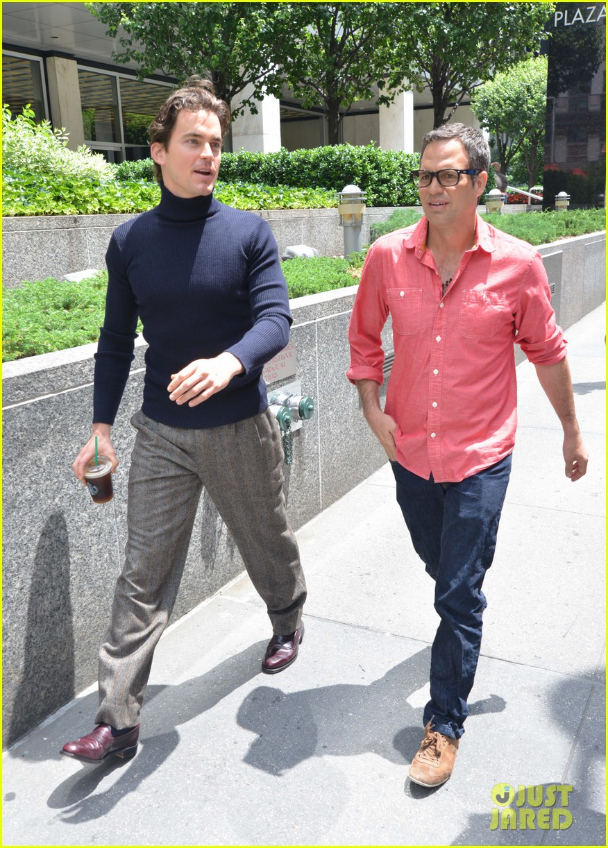 matt bomer taylor kitsch film normal heart in nyc 20