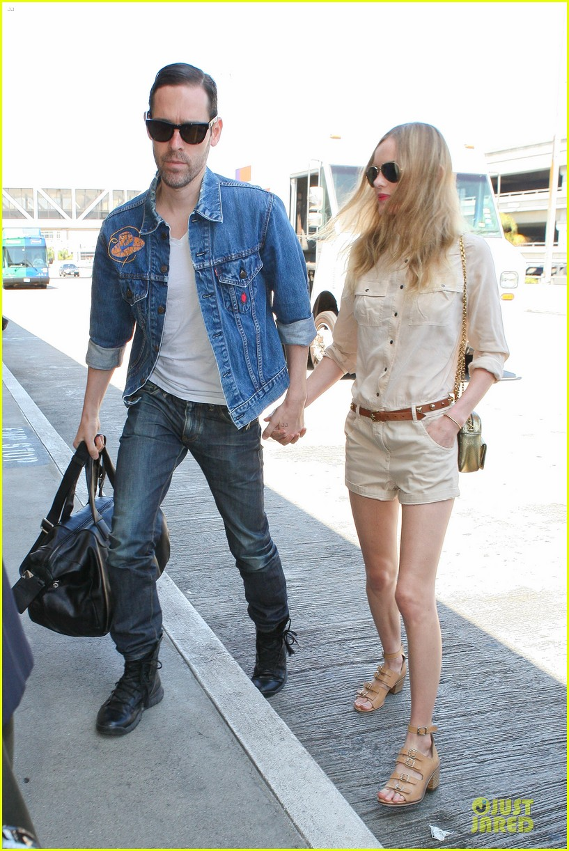 kate bosworth michael polish big sur support at lax 062919565