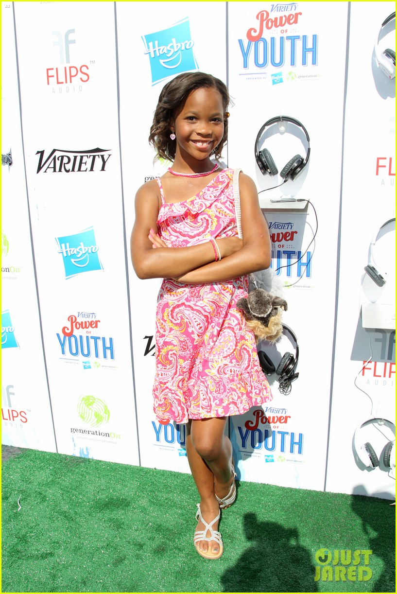 abigail breslin quvenzhane wallis power of youth 2013 05