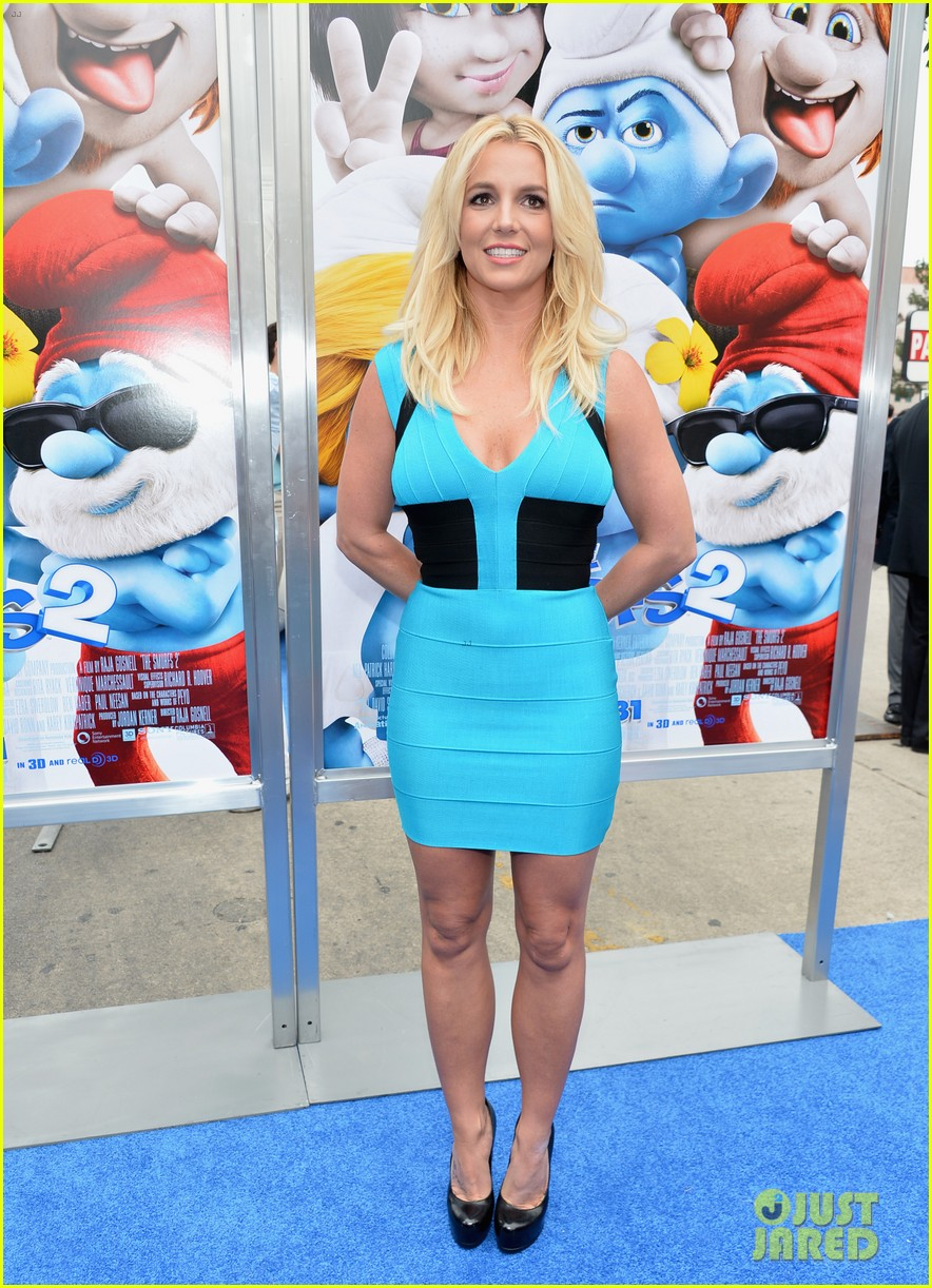 britney spears smurfs 2 premiere with sean preston jayden james 10