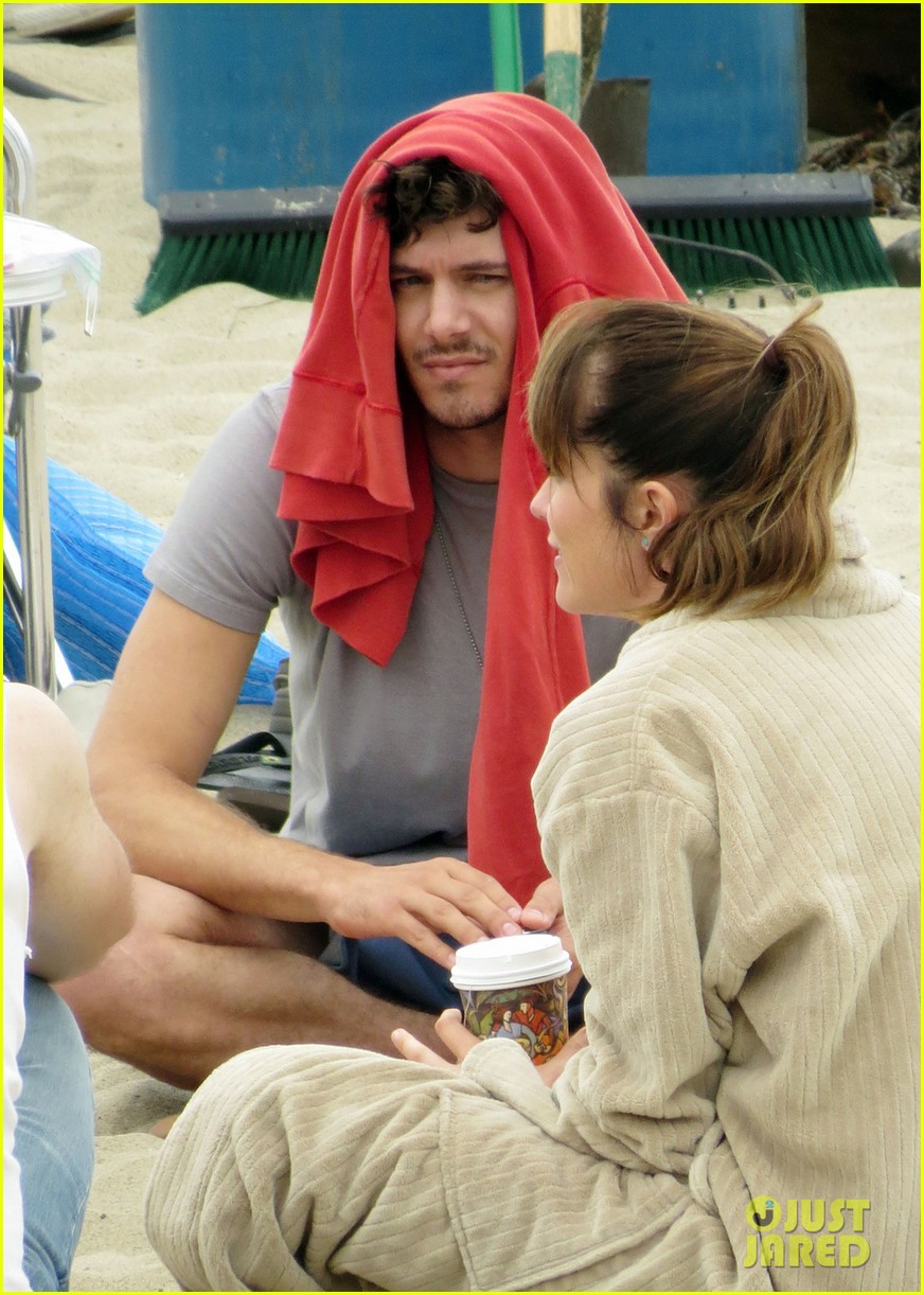 adam brody beach volleyball fun on the league set 022916347