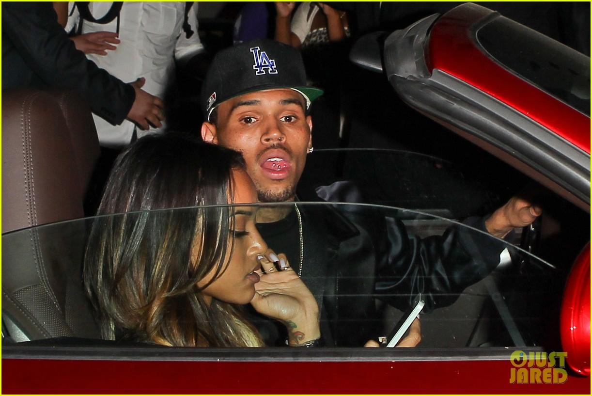 chris brown karreuche tran bet awards 2013 after party 04