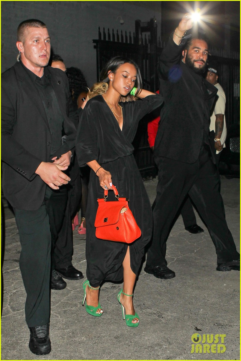 chris brown karreuche tran bet awards 2013 after party 072901862