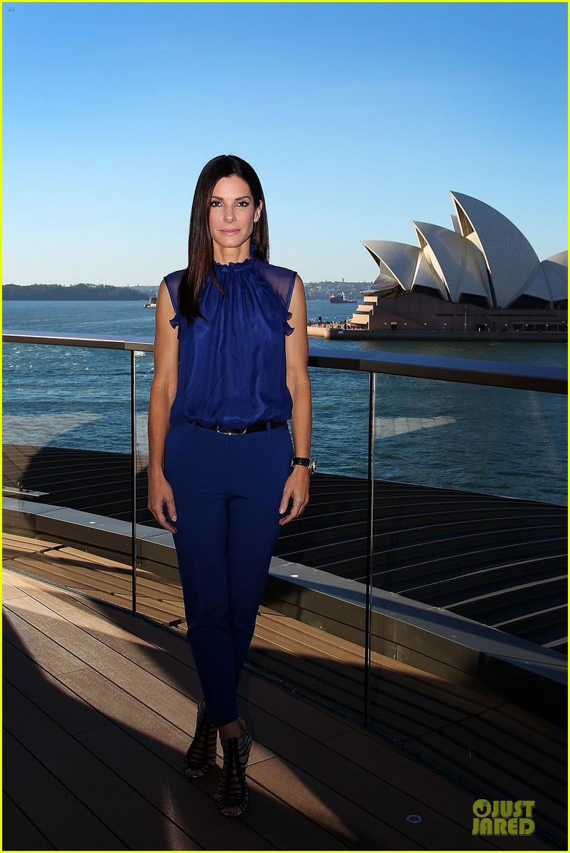 sandra bullock the heat sydney photo call 01