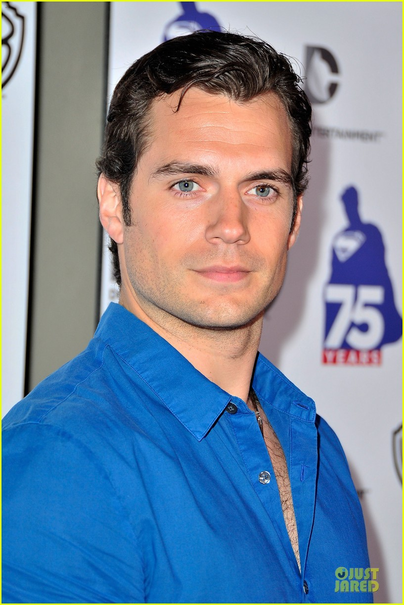 henry cavill superman 75 party at comic con 072912722