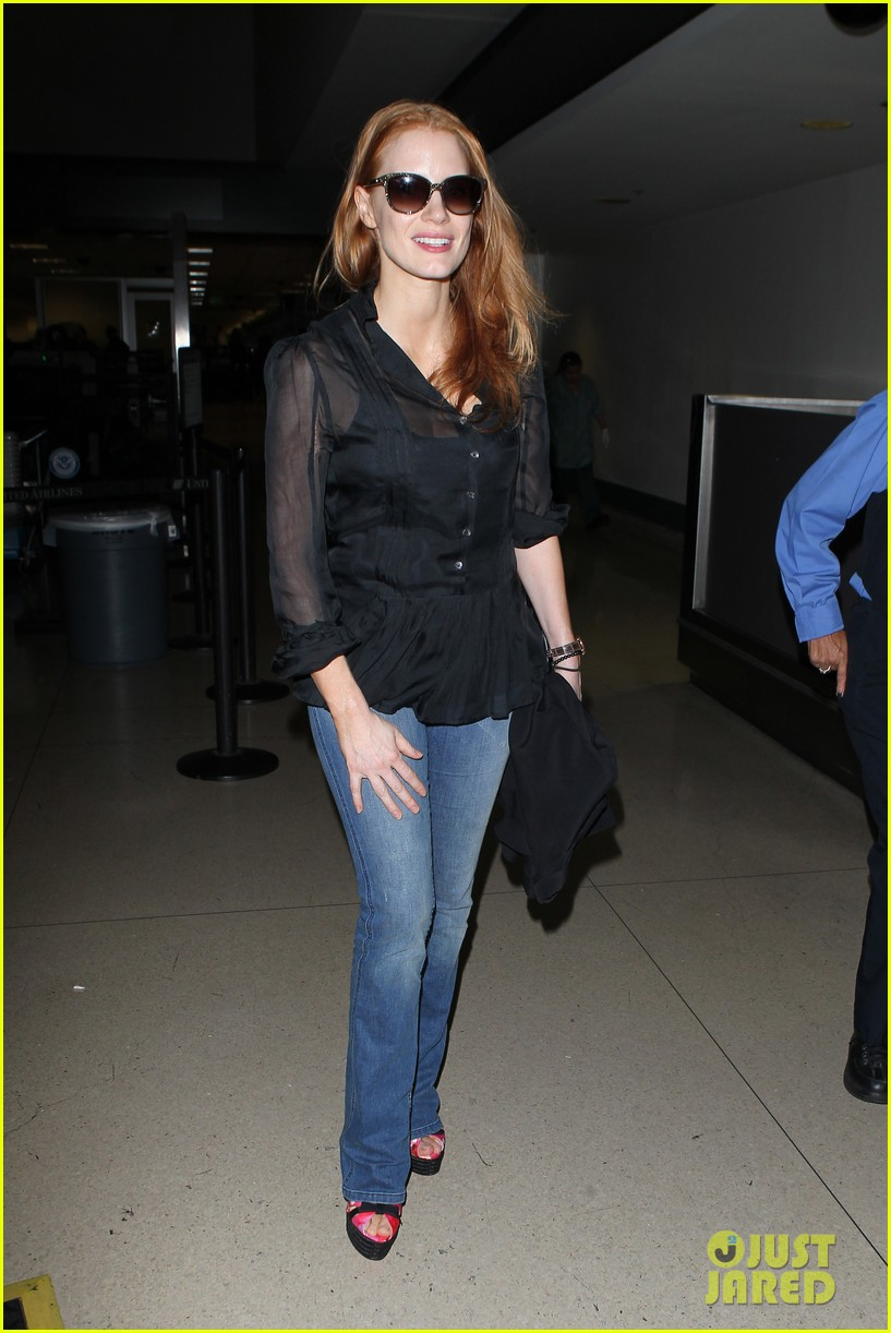 jessica chastain griffoni film festival this weekend 202912142