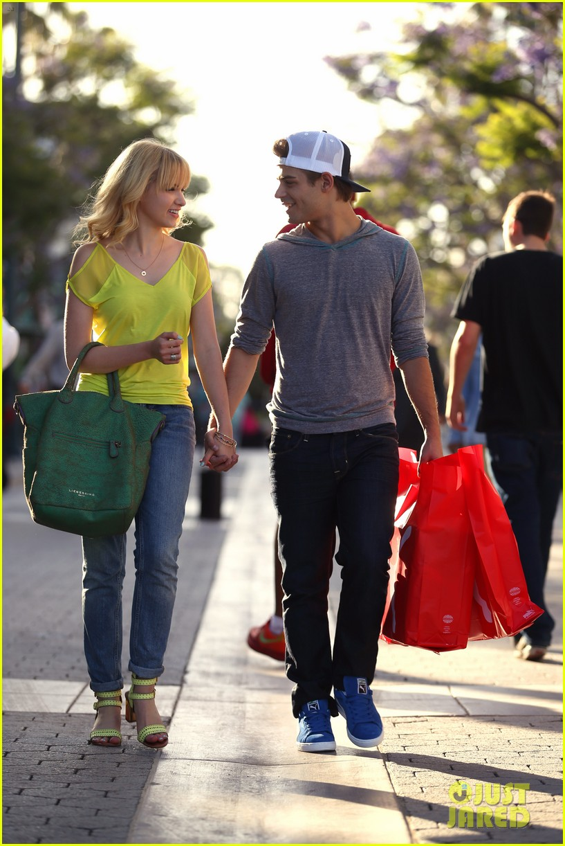garrett clayton claudia lee holding hands 03