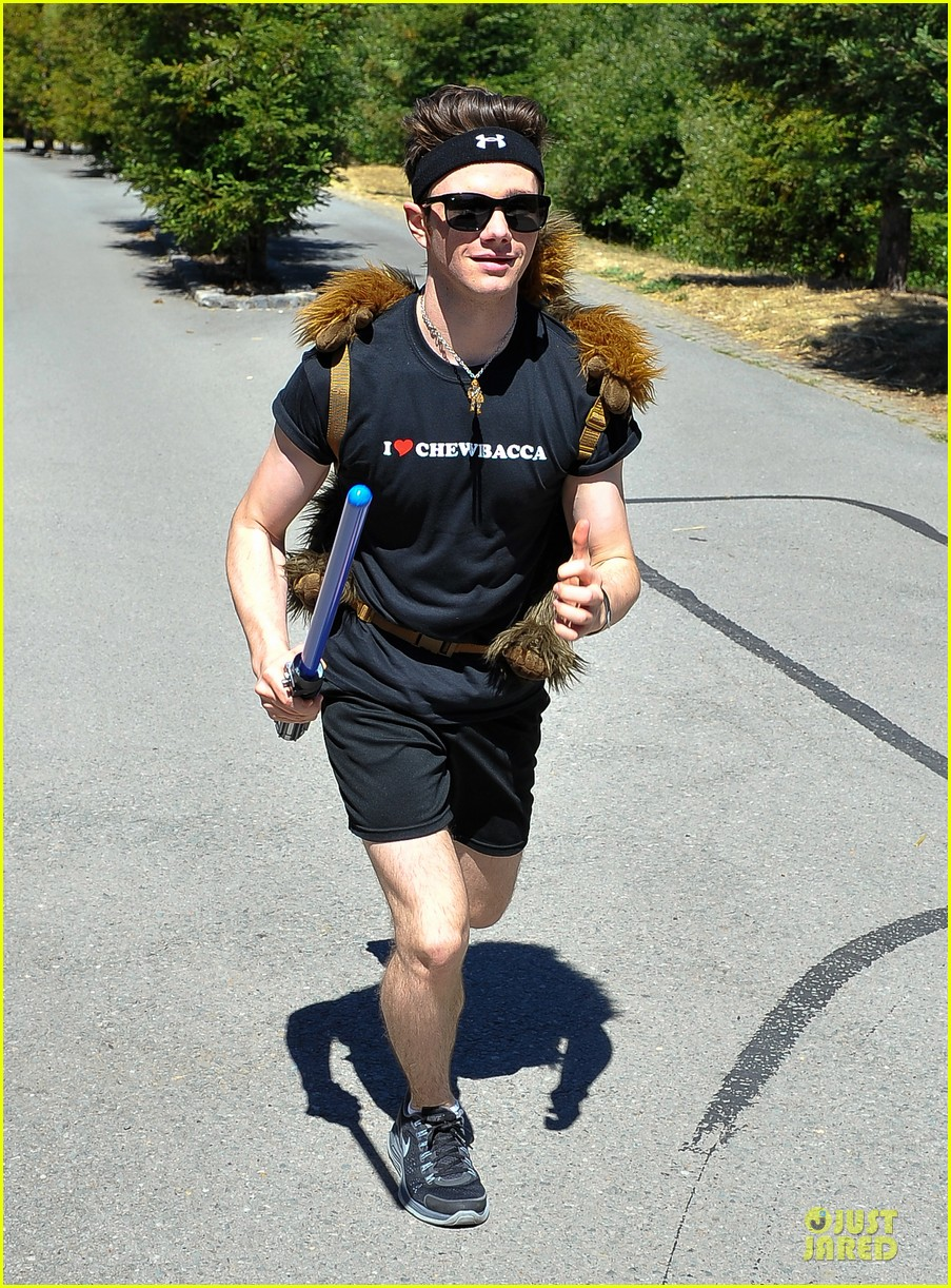 chris colfer alyson hannigan course of the force relay 08