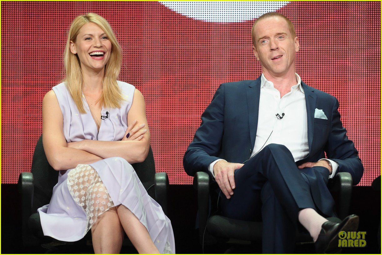 claire danes damian lewis homeland at showtime summer tca tour 132919817