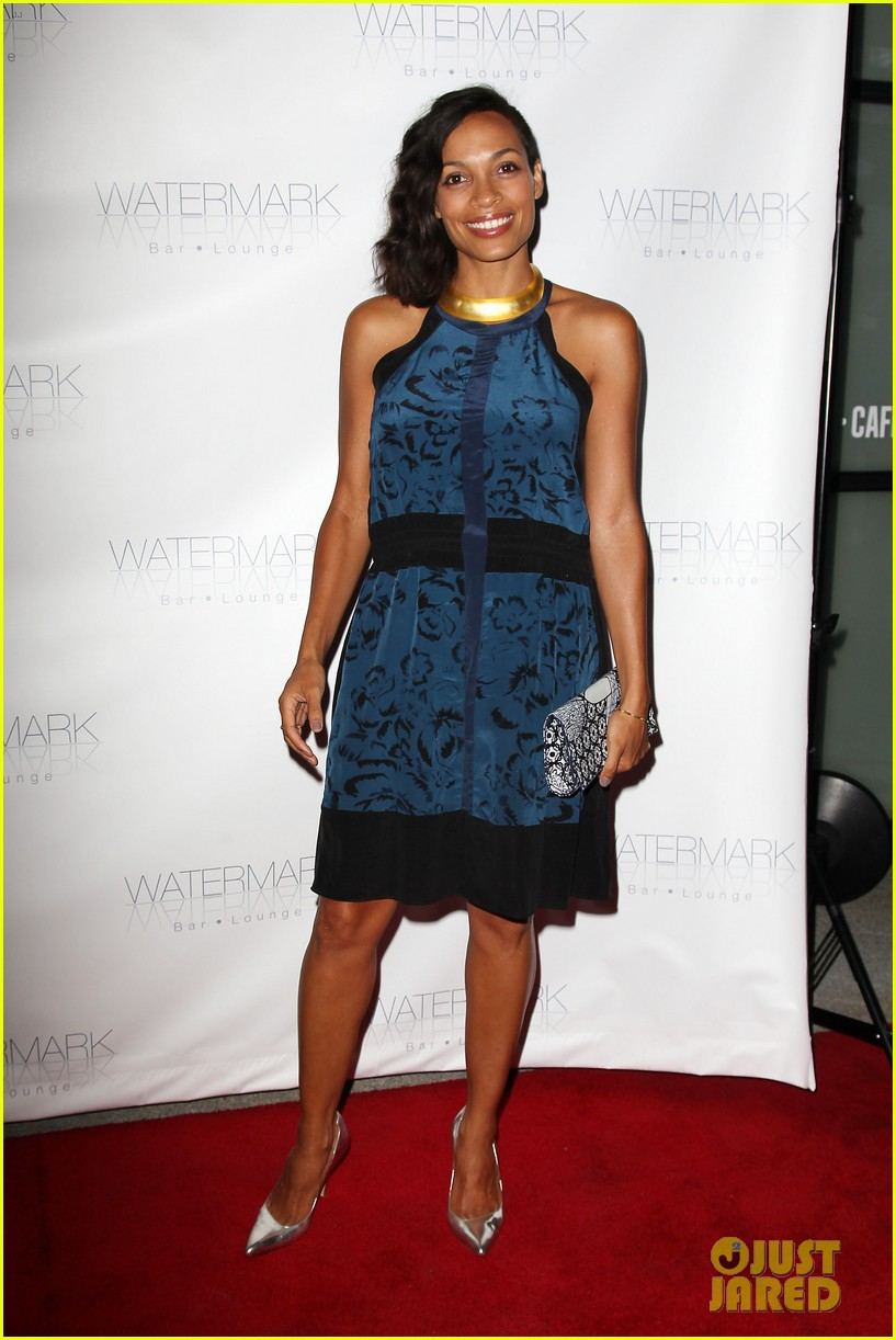 rosario dawson watermark bar grand opening 01