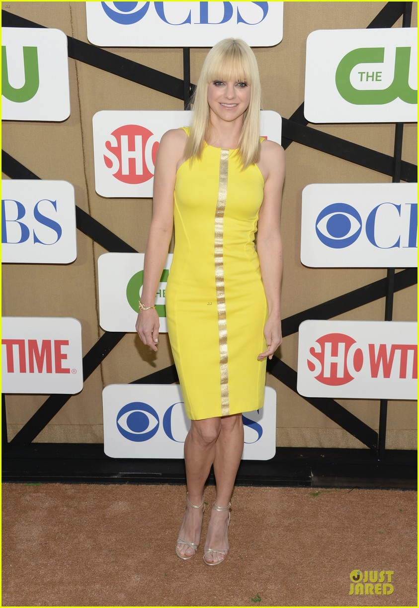 anna faris cbs summer tca party 01